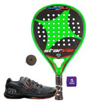 PACK STAR VIE BRAVA 8.2 CARBON Y ZAPATILLAS WILSON