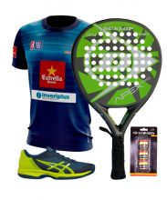 PACK DUNLOP APEX PRO AND ASICS PADEL SHOES