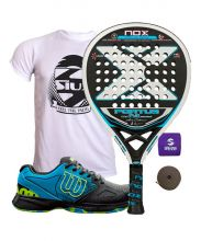 PACK NOX PORTU P.3 AND WILSON DEVO PADEL SHOES
