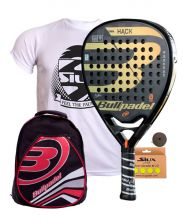 PACK BULLPADEL HACK 2018 AND RED BACKBACK