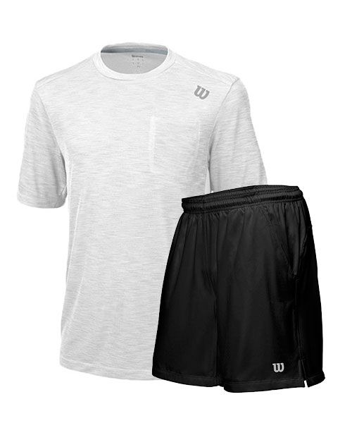 pack-wilson-pantalon-corto-rush-9-woven-y-camiseta-blanca