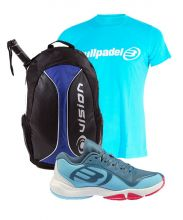 PACK BULLPADEL FLOW Y MOCHILA VISION