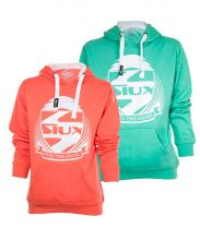 PACK SIUX 2 BELICE TURQUOISE CORAL WOMEN SWEATSHIRTS