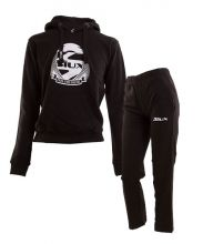 SIUX OUTFIT CLASSIC NEW BLACK SWEATSHIRT AND BANDIT BLACK JUNIOR SWEATPANTS