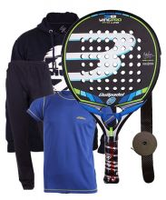 PACK BULLPADEL WING PRO 2016 AND OUTFIT