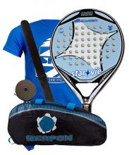 PACK STAR VIE EVOLUTION W02 AND SOFTEE WEAPON PADEL RACKET BAG