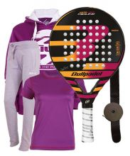 PACK BULLPADEL KATA LIGHT MIDLINE 2017 Y EQUIPACIÓN