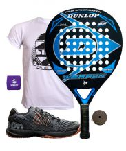 PACK DUNLOP WEAPON Y ZAPATILLAS WILSON