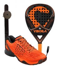 PACK VIBORA COPPERHEAD Y ZAPATILLAS WILSON KAOS