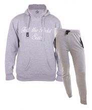 SIUX OUTFIT CLASSIC GREY SWEATSHIRT AND DIABLO GREY SWEATPANTS