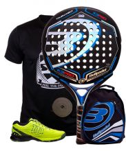 PACK BULLPADEL K3 PRO 2015 ZAPATILLAS WILSON Y MOCHILA BULLPADEL