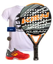 PACK KUGAN KALIMA Y ZAPATILLAS BULLPADEL BEWER