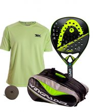 PACK HEAD GRAPHENE XT ALPHA PRO, PALETERO Y CAMISETA WINGPADEL