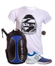 PACK WILSON KAOS 2.0 BLUE WHITE AND SIUX BACKPACK