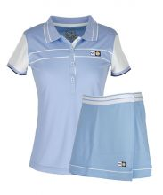 PACK VARLION ANNIVERSARY SKY BLUE SKIRT AND ANNIVERSARY SKY BLUE POLO SHIRT