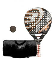 PACK BULLPADEL BP10 PRO Y BOLSA JOHN SMITH NEGRA