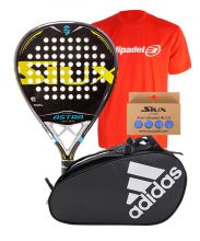 PACK SIUX ASTRA ATTACK Y PALETERO ADIDAS CONTROL CRB