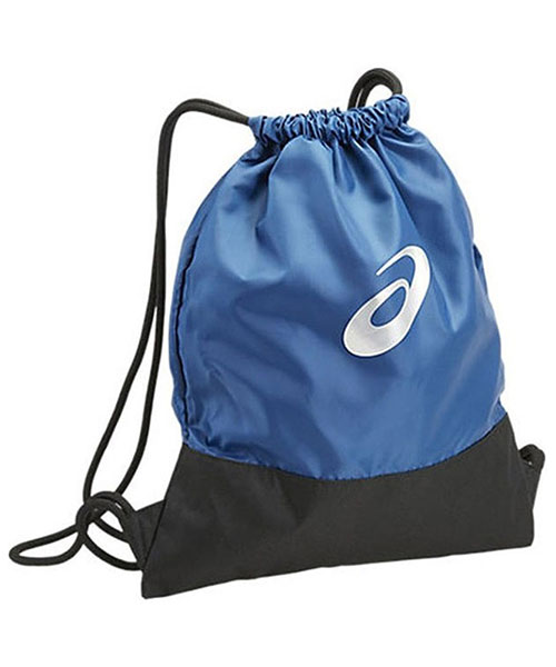 ASICS TR CORE BLUE AND BLACK GYMSACK