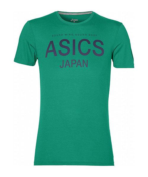 asics logo t shirt