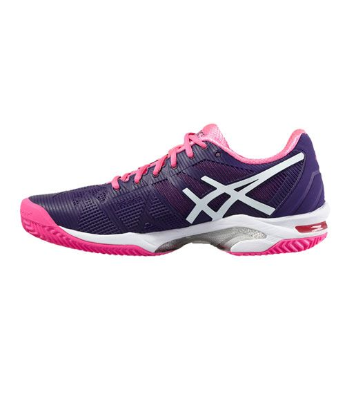 Marte luces Duplicación  ASICS GEL SOLUTION SPEED 3 CLAY PURPURA ROSA E651N 3301