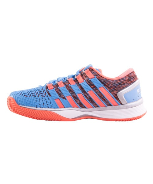 Zapatos azules celeste K-Swiss Hypercourt para mujer bkaKY
