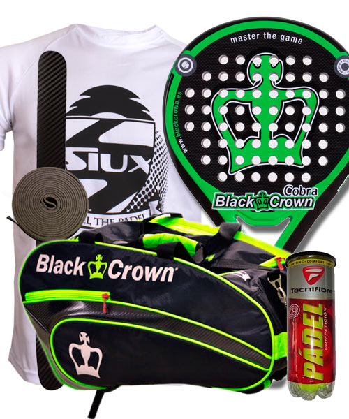 PACK BLACK CROWN COBRA 2015