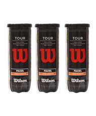 WILSON PADEL PACK 3 CANS