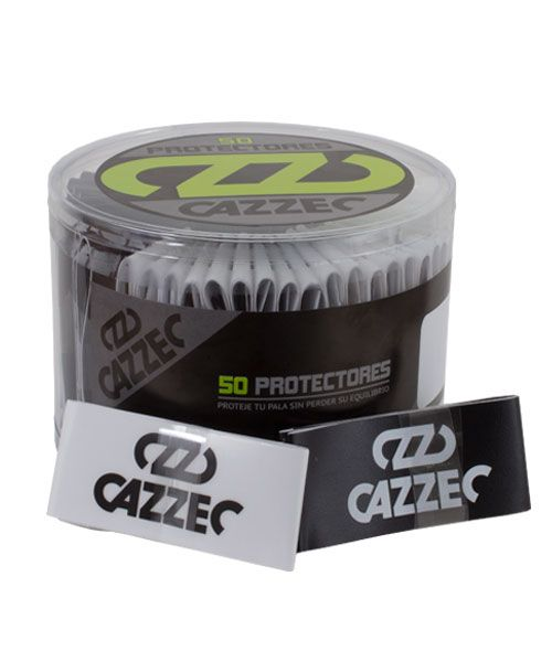 DRUM PROTECTOR CAZZEC BLACK-TRANSPARENT 50 UNITS
