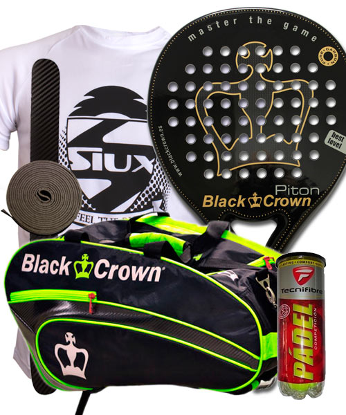 PACK BLACK CROWN PITON