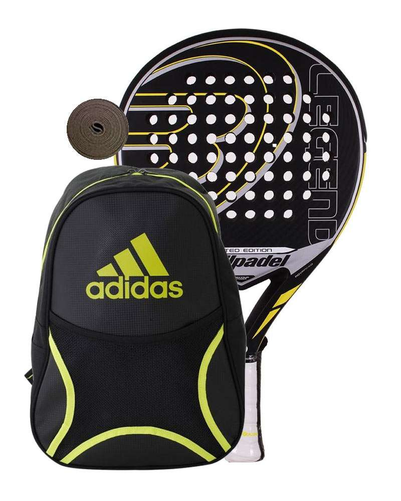 PACK BULLPADEL LEGEND LIMITED EDITION AND BACKPACK ADIDAS CLUB