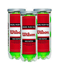3 CANS OF 3 BALLS WILSON RUSH 100