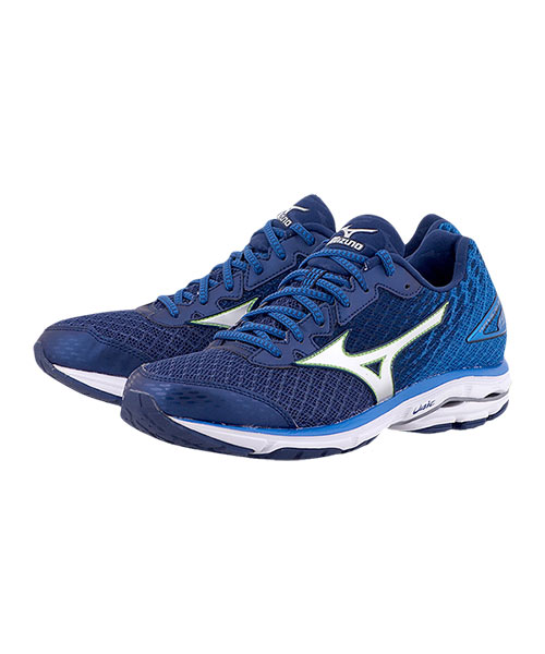 huge discount 43914 f7be0 MIZUNO WAVE RIDER 19 BLUE