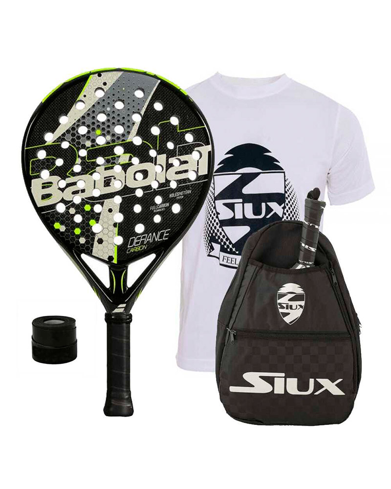BABOLAT DEFIANCE CARBON AND SIUX SHOULDER BAG PACK