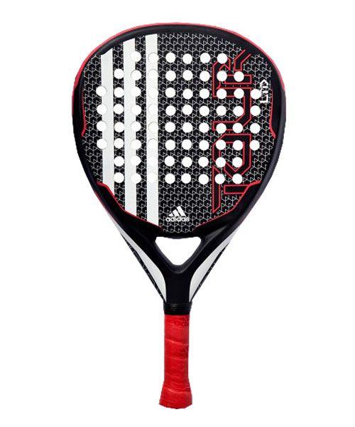 capa agrio columpio  Adidas Power Attack Tour Ltd Black - Adidas quality padel racket   Potency