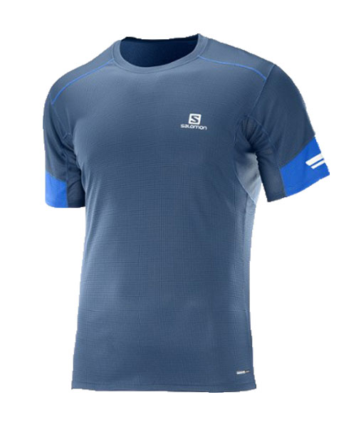 SALOMON AGILE BLUE SHIRT