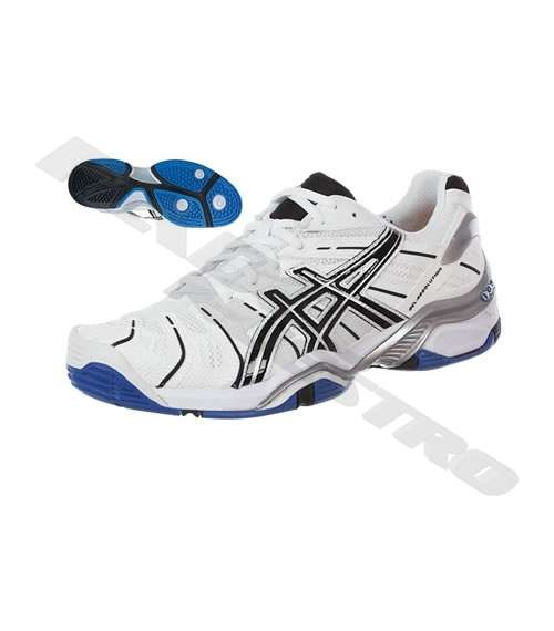 Negro Blanco Asics Gel 4 Resolution 2012 Oc Kc5ulTF1J3