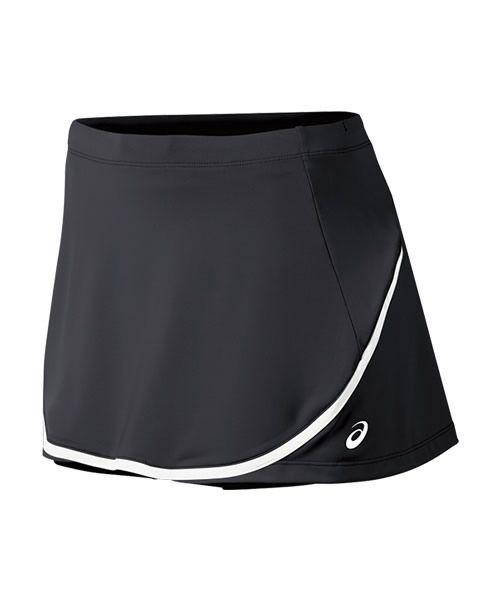 falda skort asics tenis negro