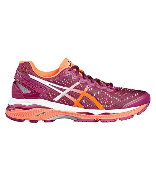 ASICS GEL KAYANO 23 WOMEN PURPLE CORAL T696N 3206