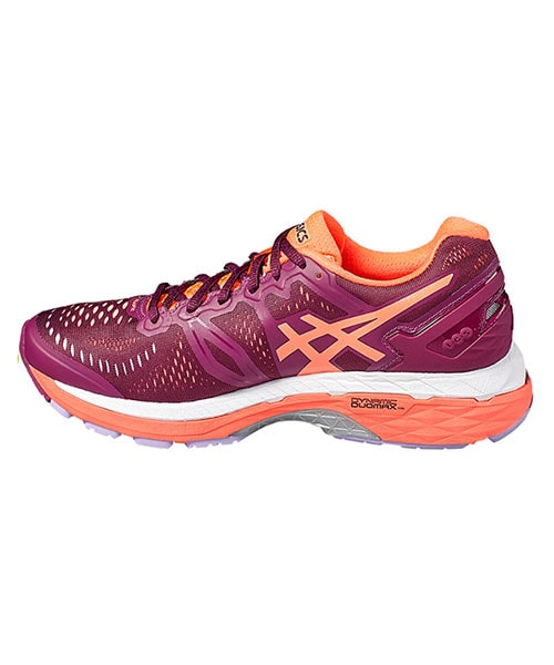 new arrival 7d3fc 7d694 ASICS GEL KAYANO 23 WOMEN PURPLE CORAL T696N 3206