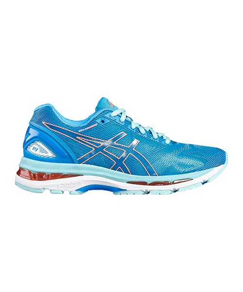 check out 1ac60 00d76 ASICS GEL NIMBUS 19 WOMAN BLUE T750N 4306
