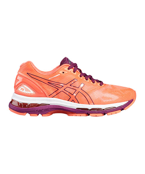 new products 391a3 13b0b ASICS GEL NIMBUS 19 MUJER CORAL LILA T750N 0632