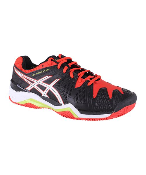684202b5957a Asics Gel Resolution 6 Clay mens padel shoes