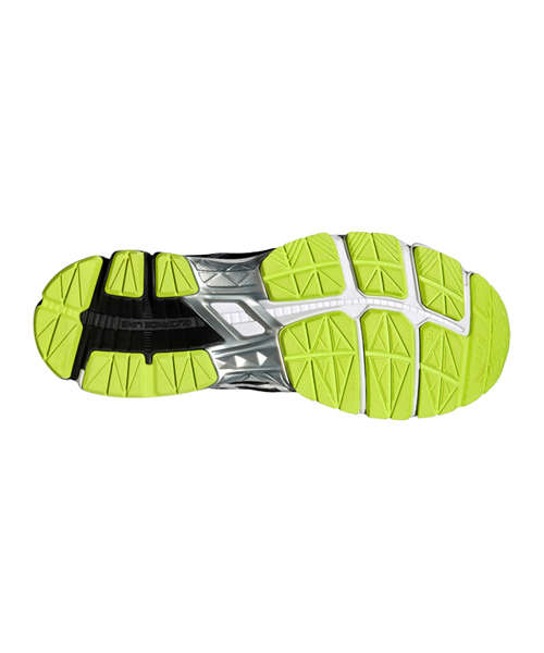 ASICS GT 1000 4 BLACK AND YELLOW T5A2N 9093