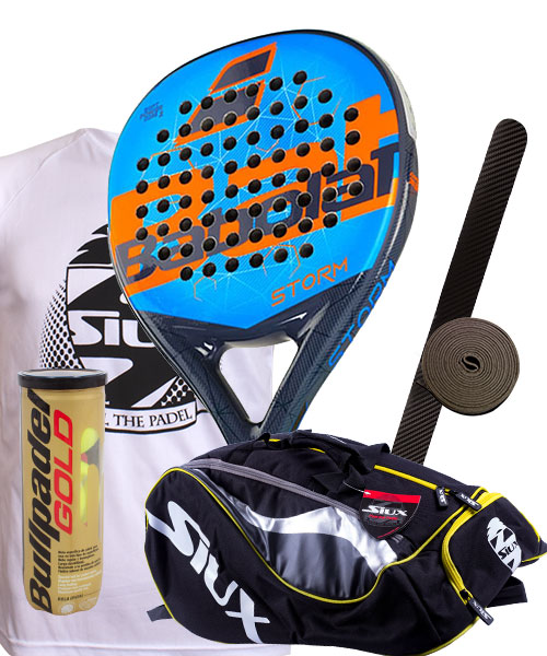 PACK BABOLAT STORM AND SIUX MASTERCOMBI PADEL BAG