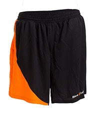 SHORT PANTS BLACK CROWN BALL BLACK ORANGE