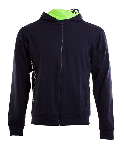 BLACK CROWN DRIVE NAVY GREEN SWEATSHIRT