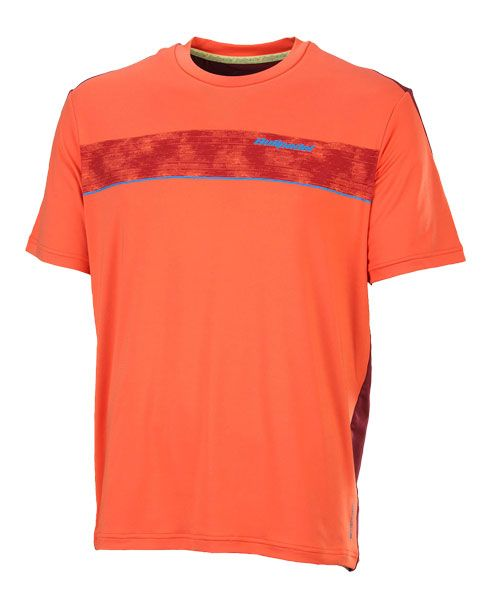 CAMISETA BULLPADEL BEINASO NARANJA