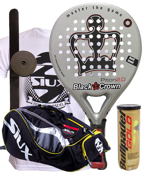 PACK BLACK CROWN PITON 2.0 Y PALETERO SIUX MASTERCOMBI