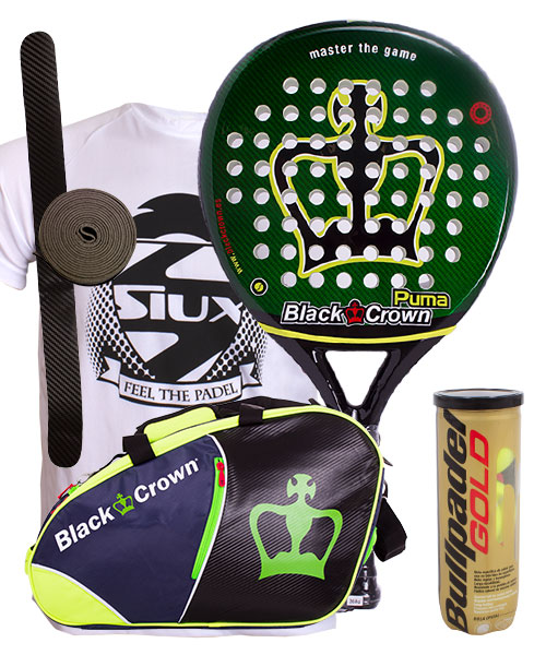 PACK BLACK CROWN PUMA Y PALETERO BLACK CROWN SUN