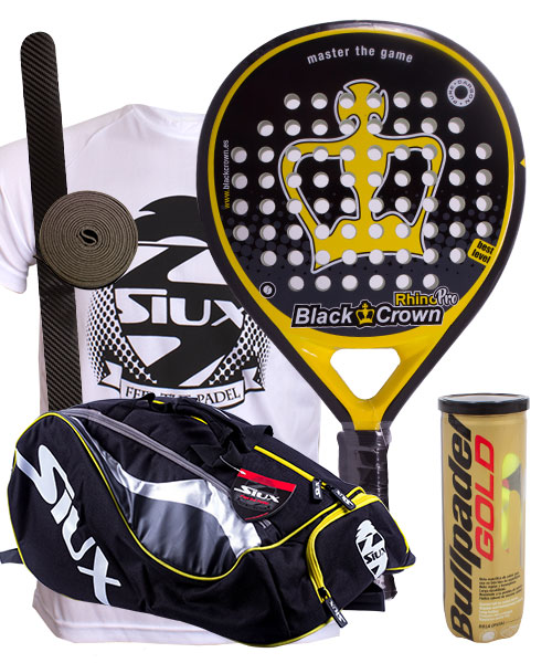 PACK BLACK CROWN RHINO PRO Y PALETERO SIUX MASTERCOMBI